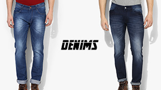 MEN'S DENIMS