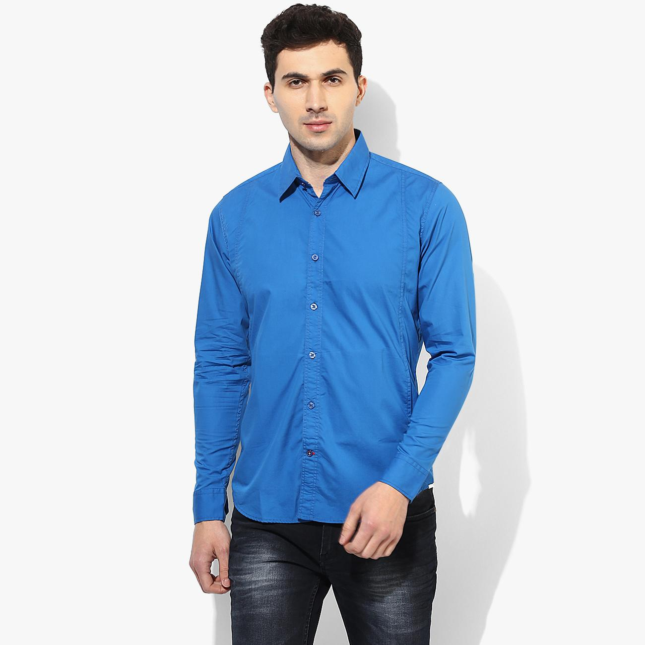 2adf1fb46b Blue Casual Shirt